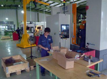 Aufbau und Betrieb von Fertigungskapazitäten