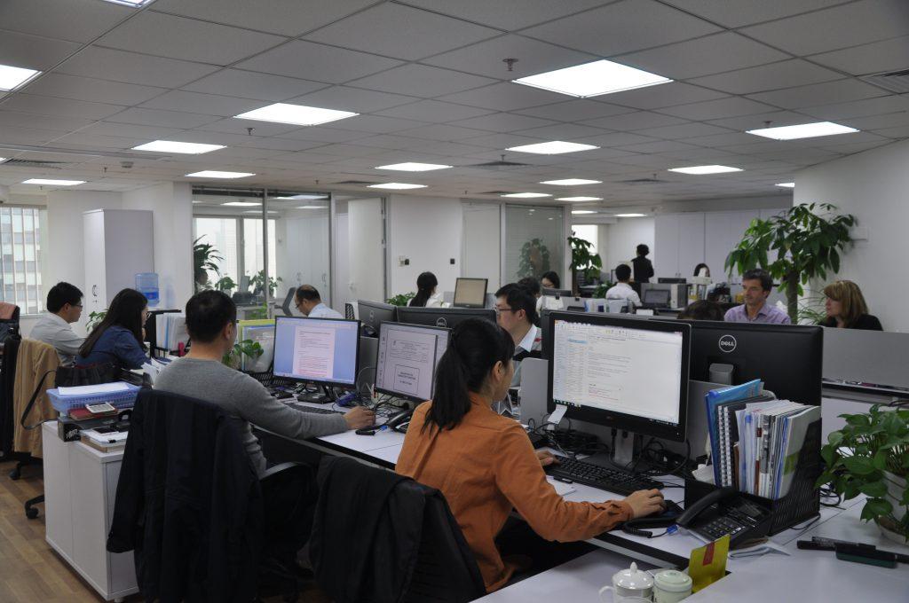 Büro der FE in Shanghai
